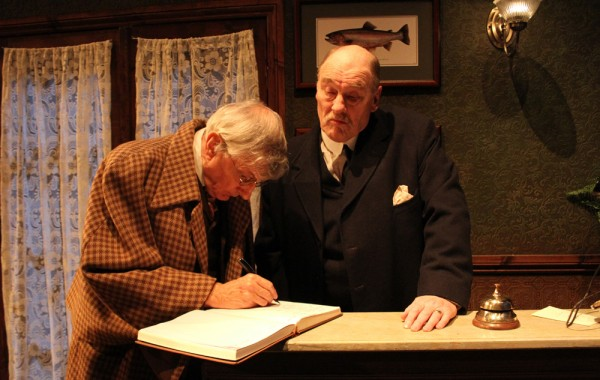 Professor Parkins and Barnaby Fitch