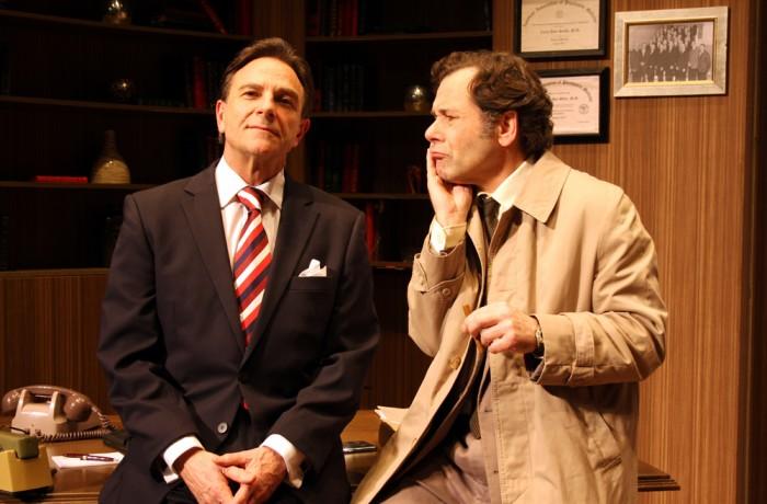 Lt Columbo & Dr Flemming