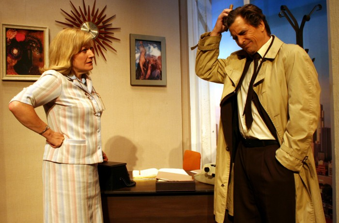 Miss Petrie & Lt Columbo