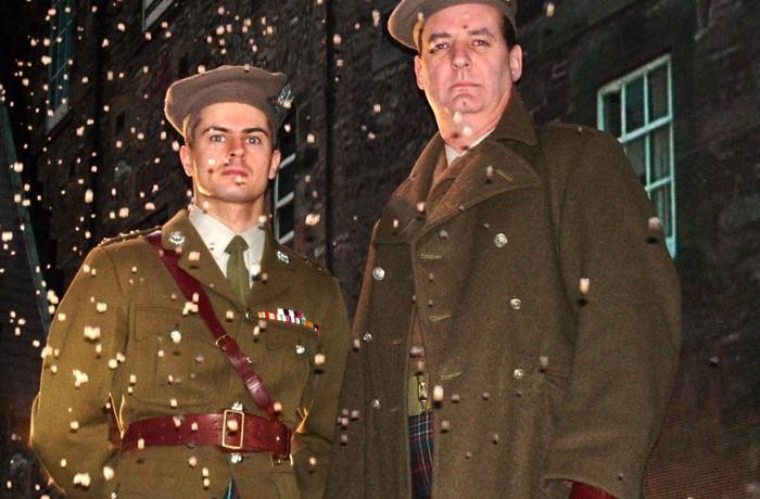 Major Charles Scott & Capt Jimmy Cairns