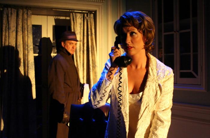 Sheila Wendice & Captain Lesgate
