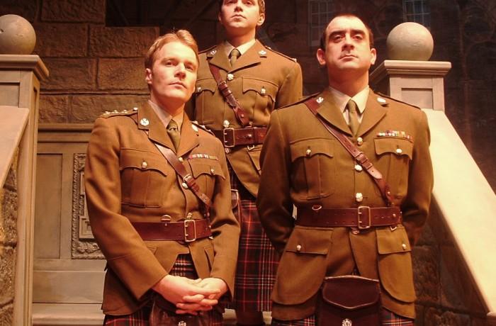 Capt Eric Simpson, Major Dusty Millar & 2nd Lt McKinnon