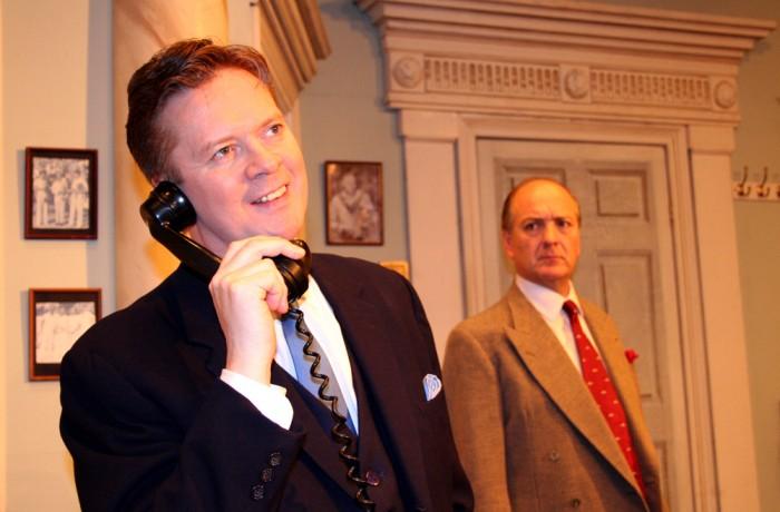 Tony Wendice & Captain Lesgate