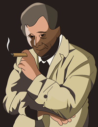 Columbo drawn