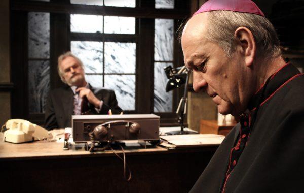Frank Galvin and Bishop Brophy