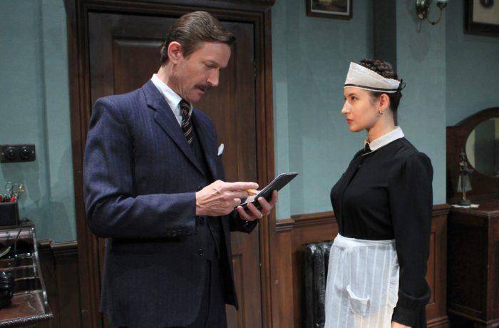 Inspector Craddock and Mitzi